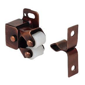 2 X Bronze Roller Catch Cupboard Cabinet / Door Latch  sc 1 st  Builders Ironmongery Store : door clasp - pezcame.com