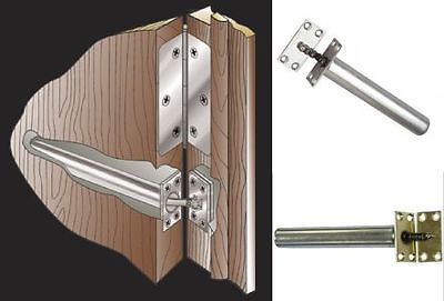 Brass Or Chrome Fire Rated Concealed Chain Spring Door Closer