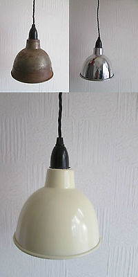 Dome Industrial Factory Enamel Vintage Retro Old Style