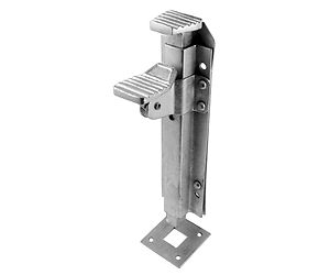 sc 1 st  Builders Ironmongery Store & HEAVY DUTY GALVANIZED FOOT OPERATED GARAGE DOOR GATE DROP BOLT LOCK