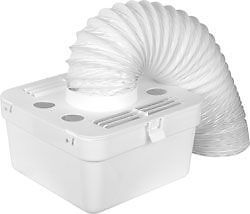 Universal Tumble Dryer Indoor Condenser Vent Kit Box With