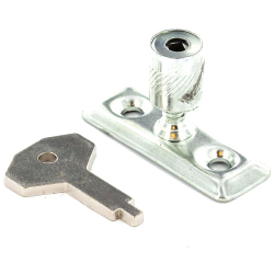Window Lock For Casement Stay Pin With Key For Insurance